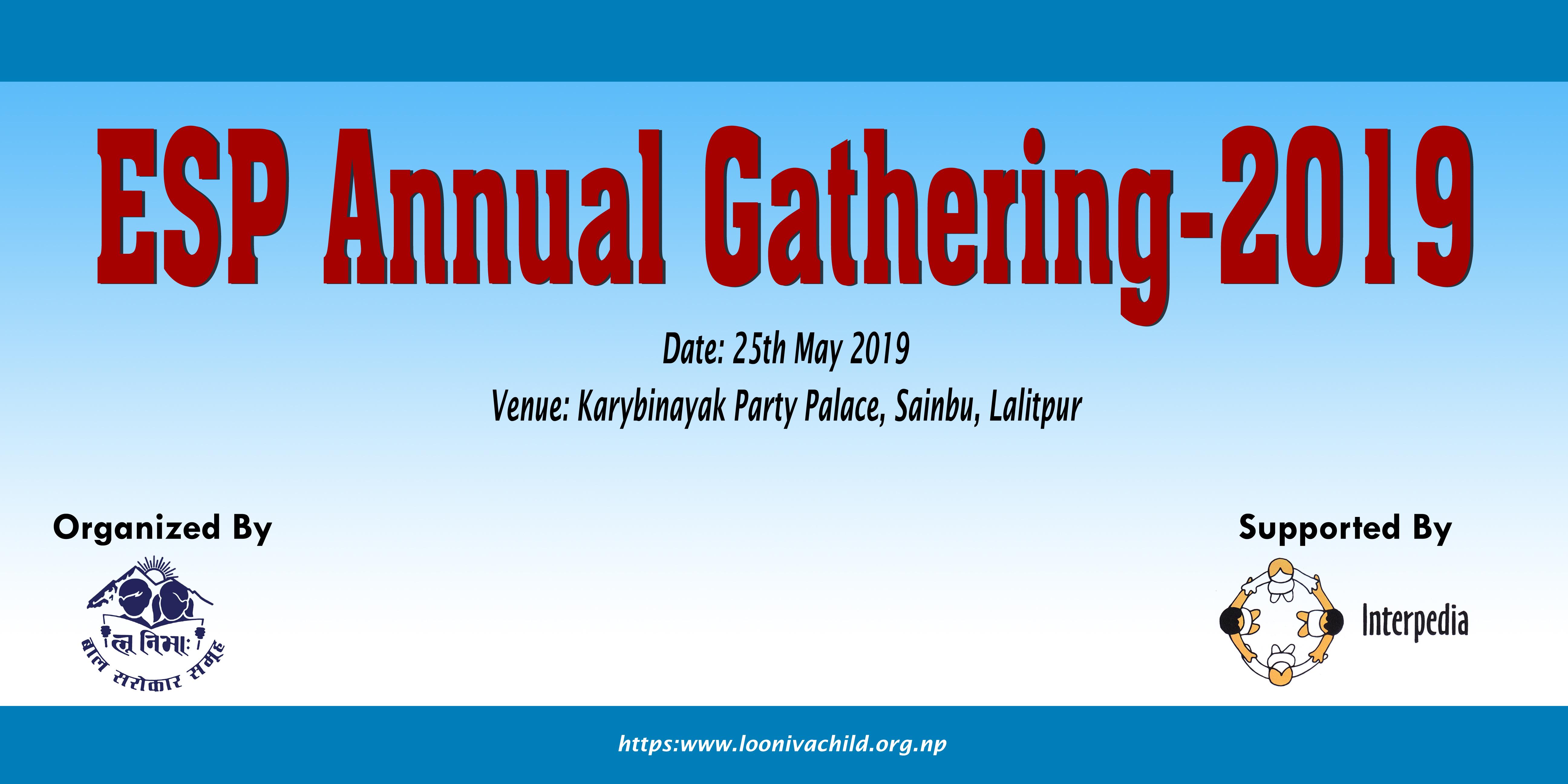 ESP Annual Gathering - 2019