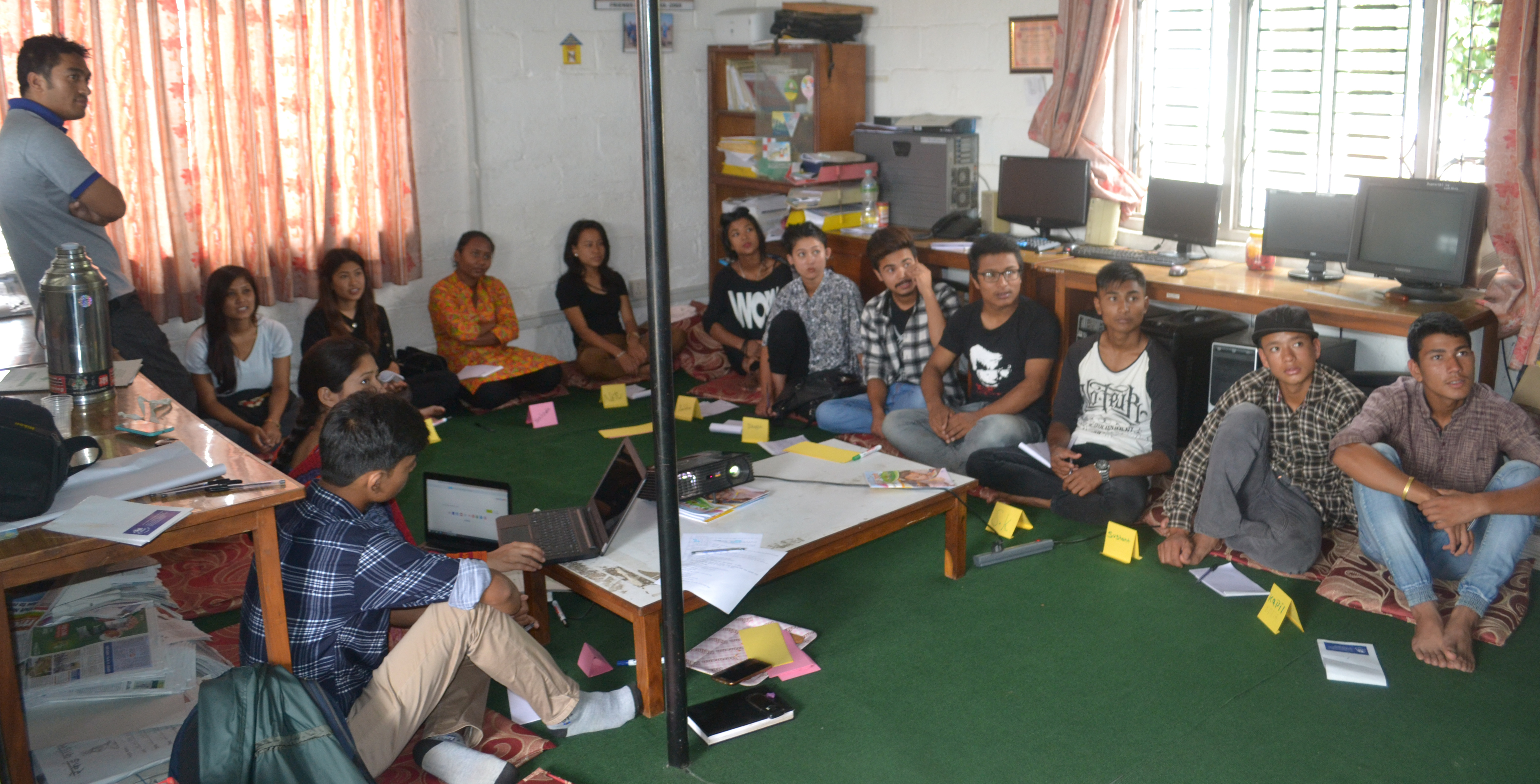 One Day Capacity Development Program for ESP Youth Forum Students